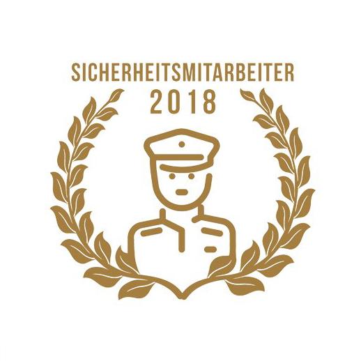 Markus Bernat ist Sicherheitsmitarbeiter des Jahres 2018