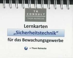 """Lernkarten """"Sicherheitstechnik"""""""