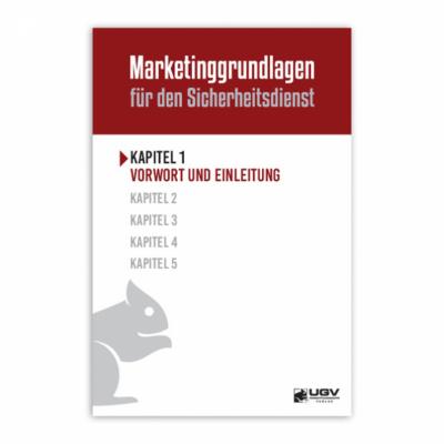 Marketinggrundlagen für den Sicherheitsdienst - Kapitel 1