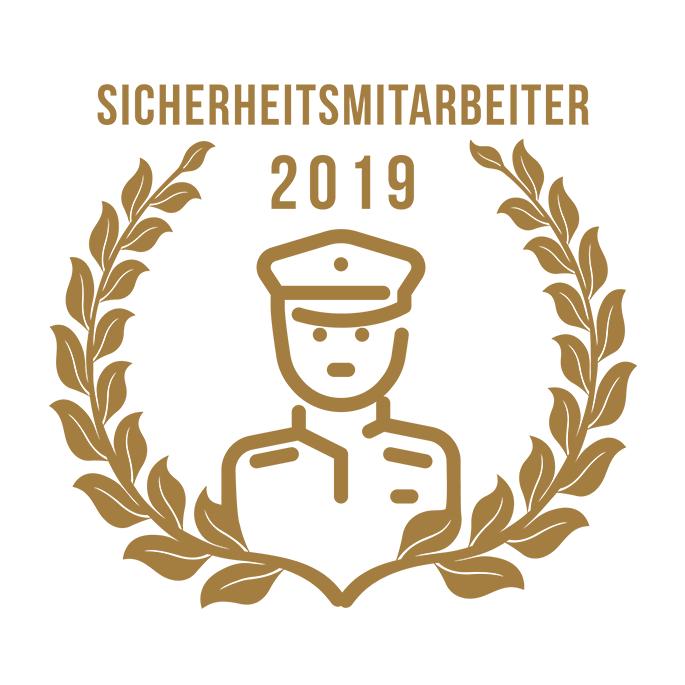 Kim-Jaqueline Anhäuser ist Sicherheitsmitarbeiterin des Jahres 2019