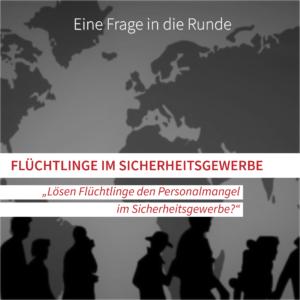 Flüchtlinge im Sicherheitsgewerbe