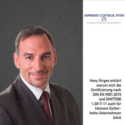 Interview mit Hany B. Girges